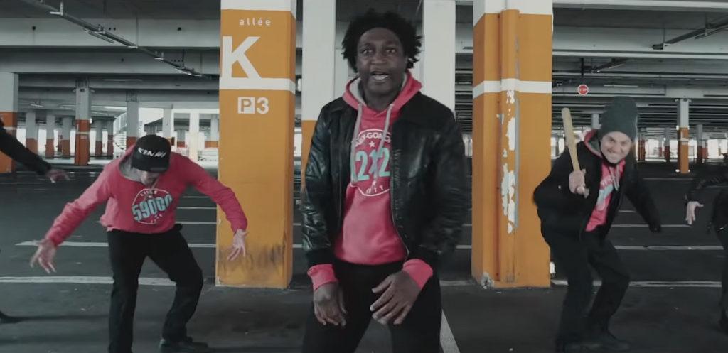 Kamini - Je M'en Bats Les Couilles (clip officiel)